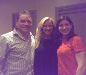 Alan Adams The Clinic Coach, Felicity Wingrove and Michelle Mone